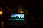 Movie night with the staff, I introduced them to Kung Fu Panda - Viking Resort, Khao Pi Pi