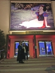 My friend Doeri and I outside WDA theater for the Frozen screening.