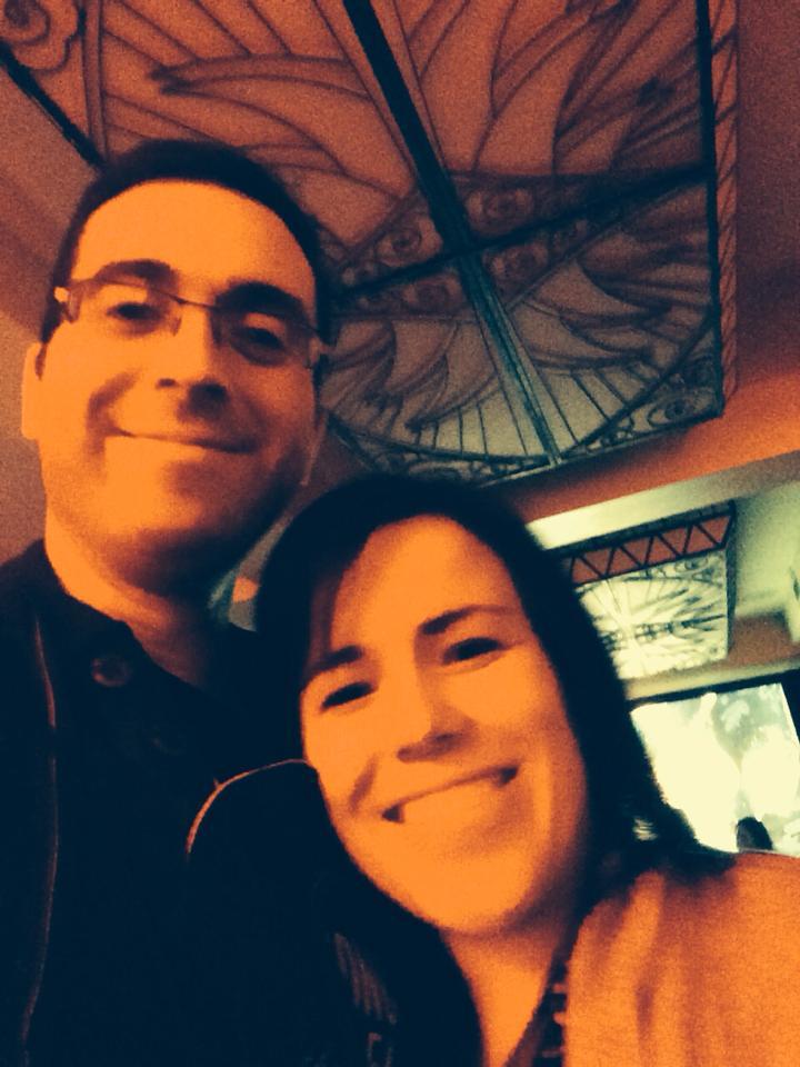 Whoop! Selfie with Tomm Moore :D